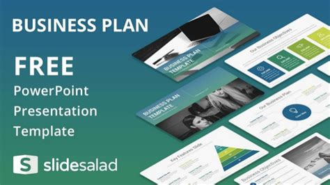 Business Plan Free Presentation Design For Powerpoint Business Plan Powerpoint Template Free