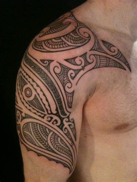 tropical tribal tattoo top 50 best shoulder tattoos for next luxury