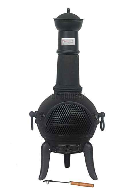 chiminea cast iron foxhunter black cast iron steel chimenea chiminea chimnea