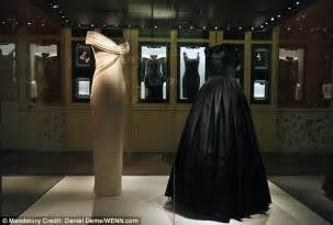 Exquisite Bedroom Set princess diana s designer gowns go on display at