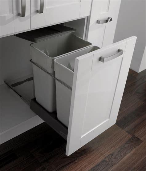 kitchen bin storage solutions recycling bin