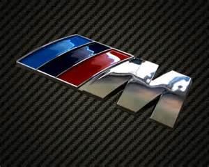 bmw m sports badge emblem m3 m5 m6 x5 x6 125 135 320 325