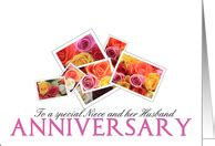 Wedding Anniversary Cards For Niece by General Wedding Anniversary Cards For Niece Husband From