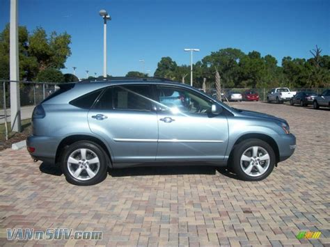 pimped lexus rx 350 2008 lexus rx 350 in breakwater blue metallic 037036
