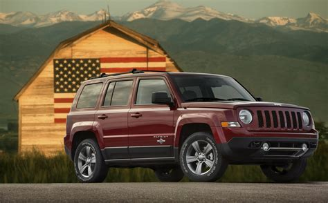 news from the us jeep patriot freedom edition launched