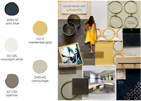 benjamin releases color trends for 2013 fend interiors