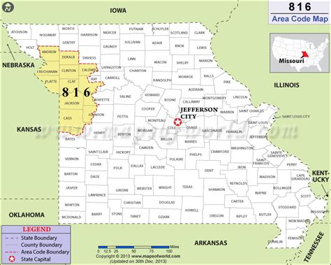 map missouri area codes 816 area code map where is 816 area code in missouri