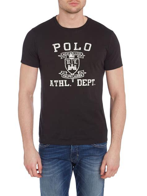 pemborong tshirt polo ralph lauren polo ralph lauren polo athletics logo print custom fit t