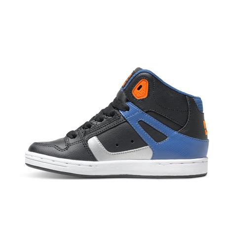 best kid shoes kid s 8 16 rebound high top shoes 888327216249 dc shoes