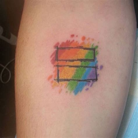 pride tattoos rainbow pride tattoos www topsimages