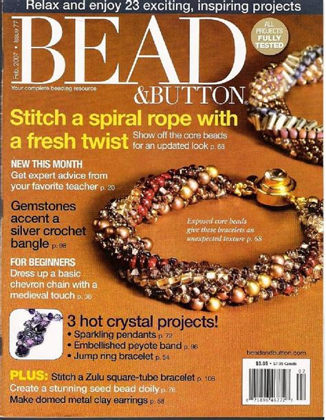 bead and button magazine 271 best images about любимые журналы on