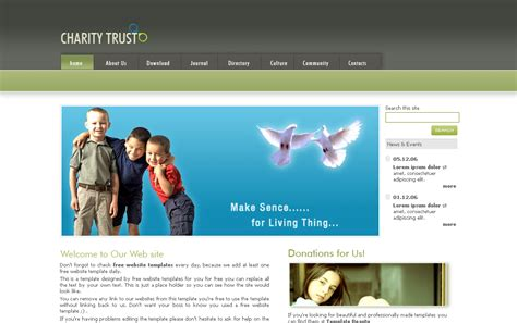 templates for school website free download free download top best primary school website templates