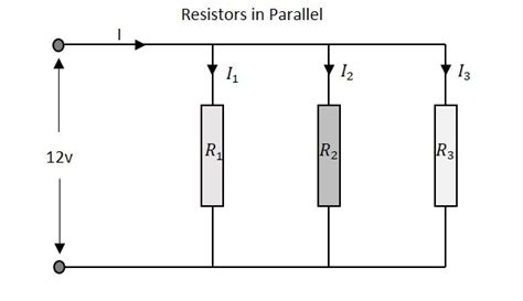 resistors connected in parallel circuit basic electronics guide