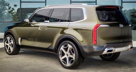 7 Passenger Kia Suv Kia Telluride Concept Previews Premium 7 Seat Suv