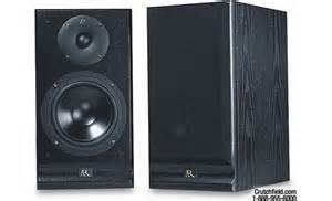 acoustic research s20 stature series bookshelf speakers at