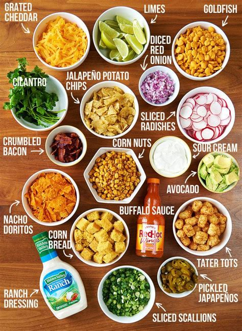 nacho bar toppings the 25 best food bars ideas on pinterest party food