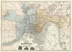 us map showing cincinnati mendenhall s new map of cincinnati barry