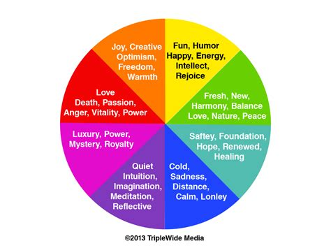 colors emotions color theory for lighting triplewide media