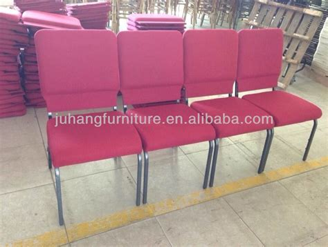 alibaba uk furniture foshan factory wholesale stacking metal used church chair