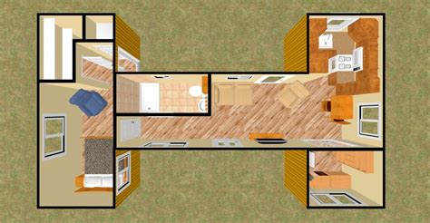 storage container home plans in modern mad home interior