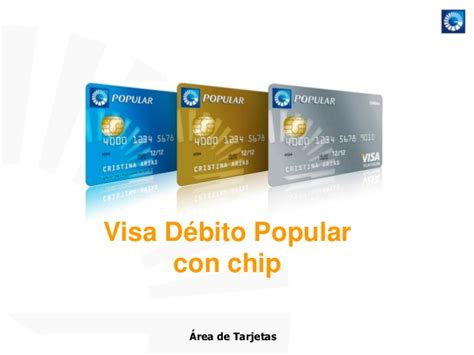 tarjeta visa banco popular tarjetas de debito y credito banco popular
