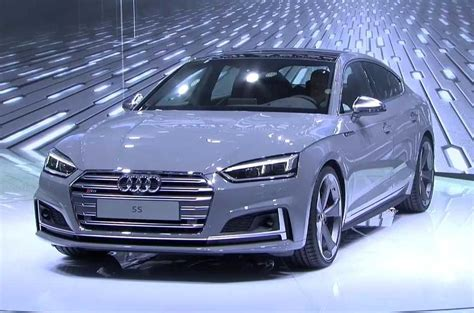 Audi A5 4 Door Review 2017 Audi A5 Sportback And S5 Sportback Shown At