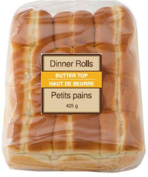 buns walmart millie s bakehouse butter top dinner rolls walmart ca