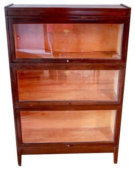 Macey Barrister Bookcase Value antique macey stacking barrister bookcase