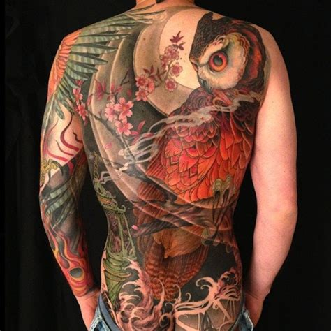 japanese owl tattoo 120 owl tattoos that will keep you awake