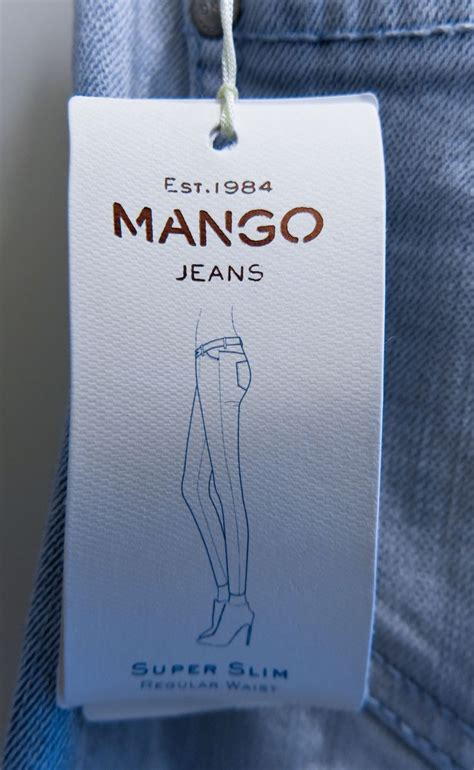 jeans swing com mango jeans hangtag hang tags pinterest swings