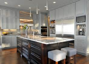 Contemporary Kitchen Units - 15 warm and grey kitchen cabinets home design lover