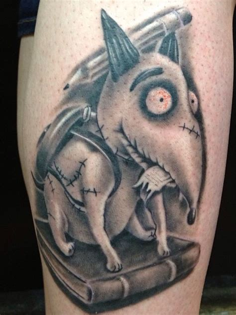 tattoo milwaukee my sparky from frankenweenie done by jim francis
