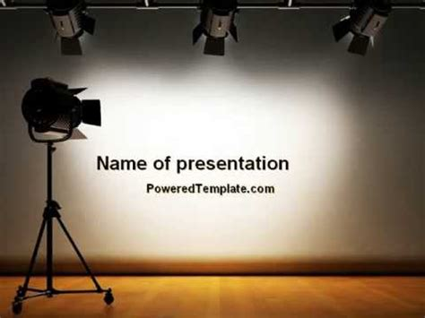 photography powerpoint template photo studio powerpoint template by poweredtemplate