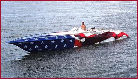 spirit of america race boat american flag paint job page 5 offshoreonly