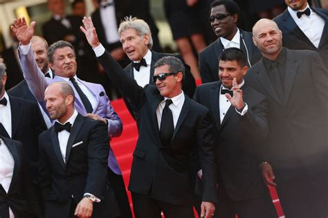 film jason statham wesley snipes harrison ford pictures quot the expendables 3 quot premiere