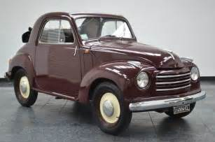 Fiat 500 C For Sale 1952 Fiat 500c Fiat 500c Topolino With 69 889 For