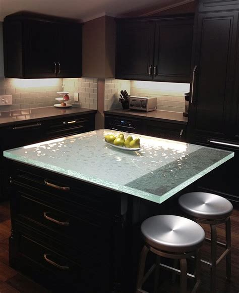 Black Glass Countertops by 66 Best Unique Glass Kitchen Counter And Island Tops