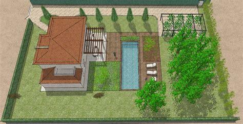 Progetto Villa Con Piscina by Progetto Giardino Con Piscina Virginia Neri