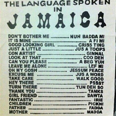 learn patois jamaica birthplace