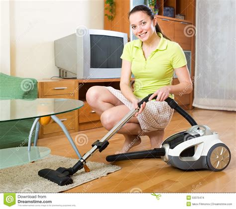 Vacuum Cleaner Happy King happy vacuuming floor stock photo image 53375474