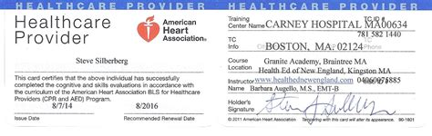aha healthcare provider card template cpr license number pictures to pin on pinsdaddy