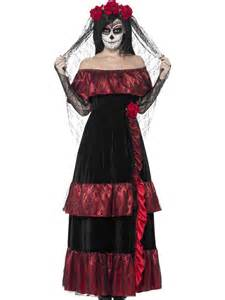 Day Of The Dead Halloween Costumes Day Of The Dead Bride Costume 43739 Fancy Dress Ball