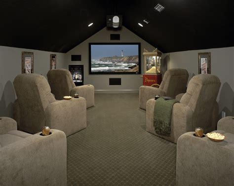 bonus room design home theatre seating attic room 4 interiors
