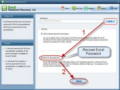 remove vba project password excel 2003 2007 excel password recovery tool how to use excel