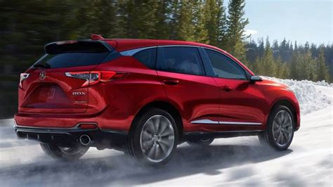 suv acura 2019 acura rdx photos of restyled luxo suv carscoops