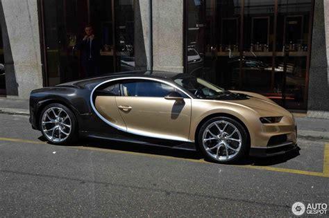 bugatti chiron gold bugatti chiron 19 june 2017 autogespot