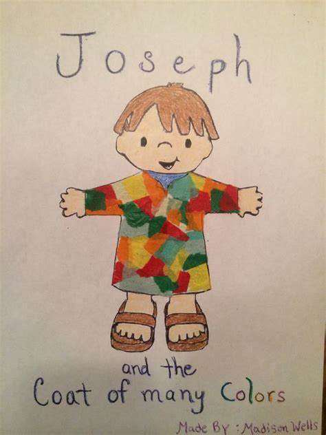 Children S Church Crafts Church Crafts And Coat Of Many Joseph Coat Of Many Colors Activity