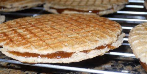 caramel waffle cookies recipe stroopwafel cookie 187 flourgirl