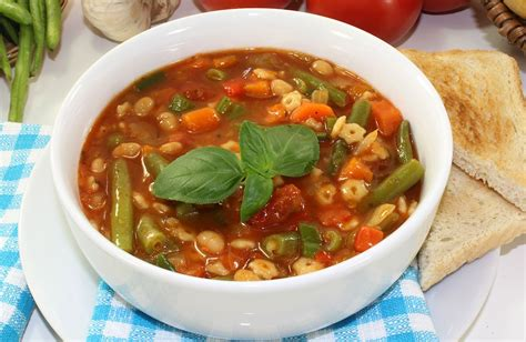 Garden Harvest Vegetable Soup Recipe Sparkrecipes How To Make Garden Vegetable Soup
