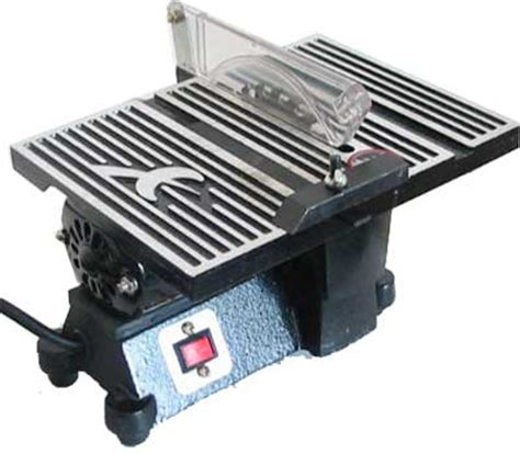 miniature table saw 4 quot mini table saw hobby crafts 4500rpm w 2 blades ebay